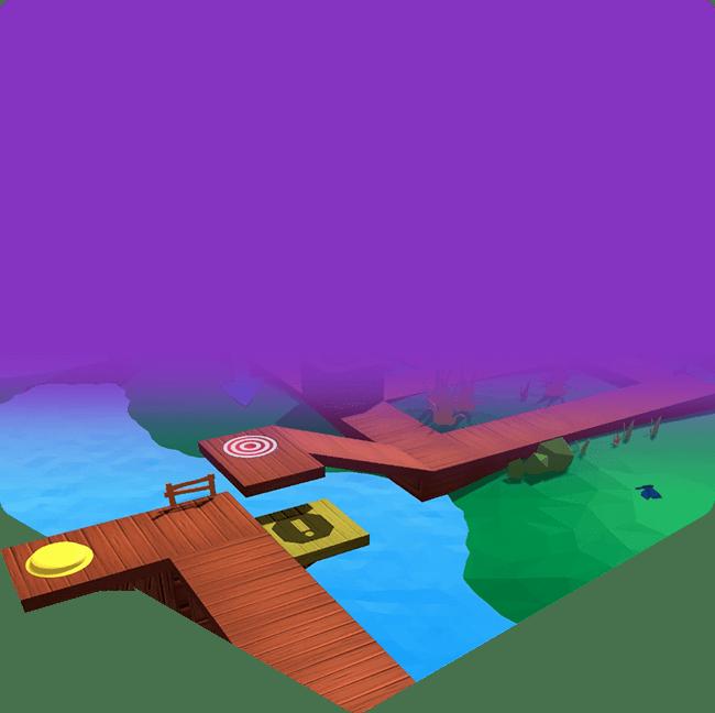 Virtual game environment for CoderZ Adventure