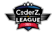 Adolescent girl and boy competing in CoderZ League virtual robotics competition