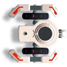 CoderZ virtual 3D moving robot for teaching coding to kids
